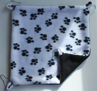 paw prints fleece chinchilla hammock quality mutation chinchillas  rh   qualitymutationchinchillas